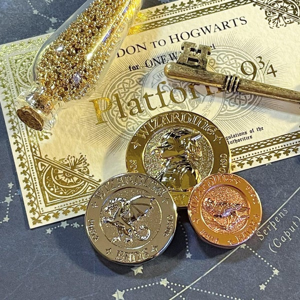 Image of Wizarding Money V2 - Full Set