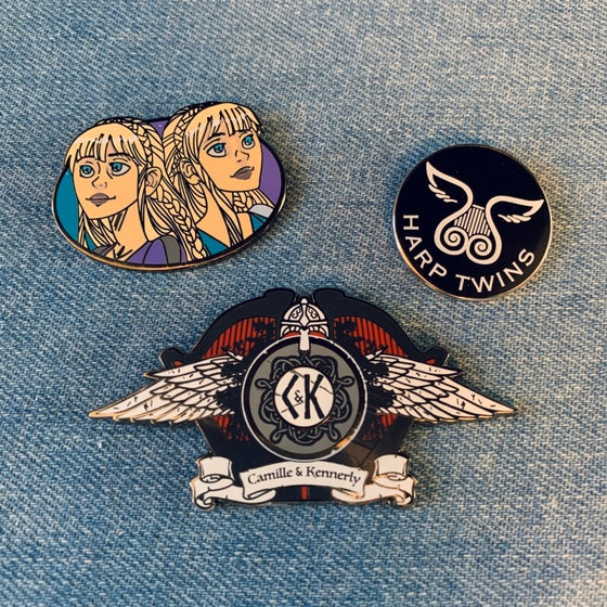 Image of NEW! Enamel Pin Bundle