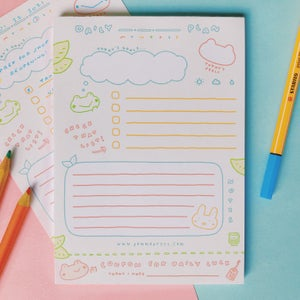 Image of DAILY PLANNER NOTEPAD