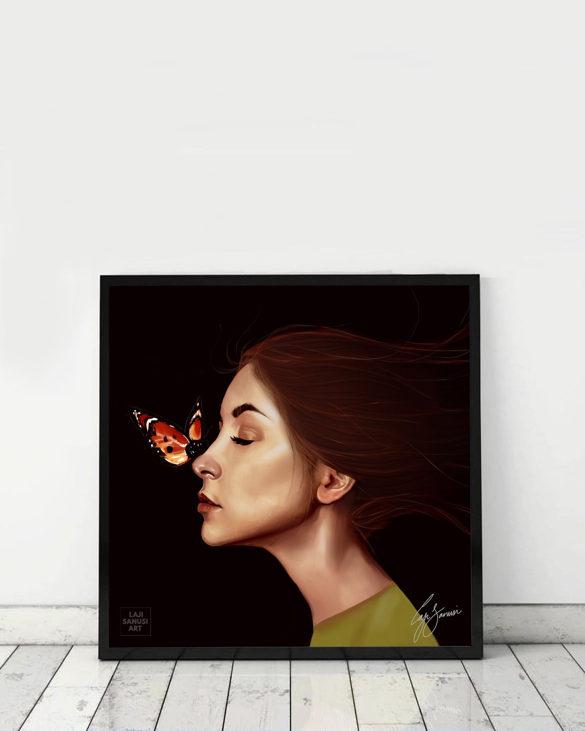Image of BUTTERFLY AT MIDNIGHT