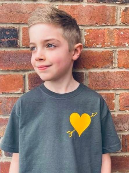 Image of  Cory cupid tee - child
