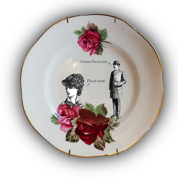 Image of Love Plate (Ref. 8b)