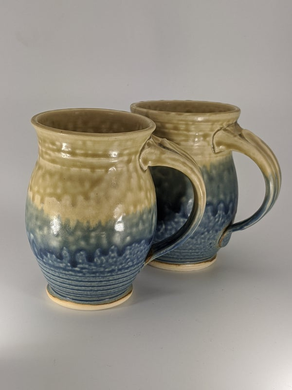 Image of Pair of Mangrove Sunrise Mugs