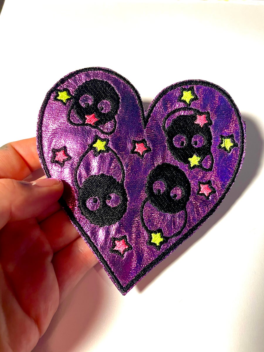 Image of Soot Sprite Heart Patch