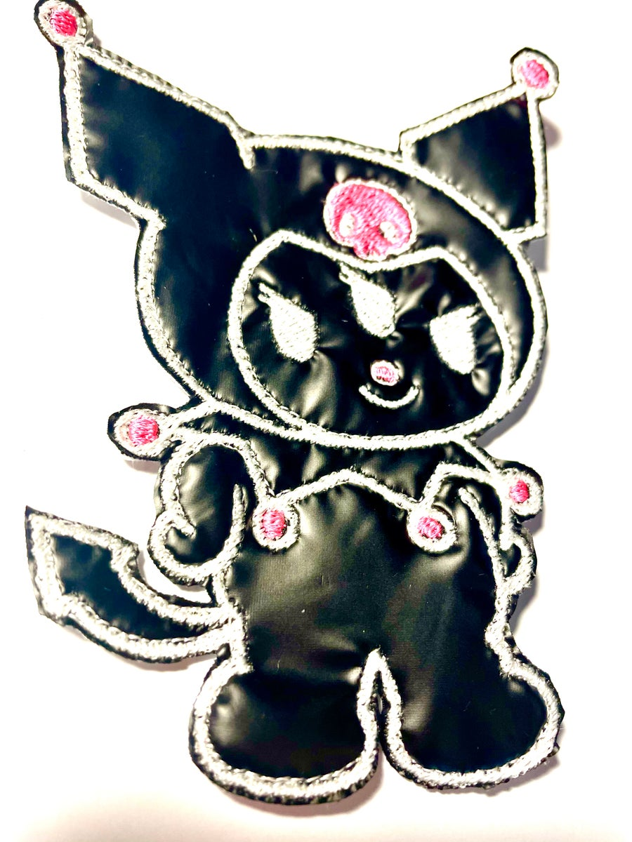 Image of Faux Leather Kuromi Patch