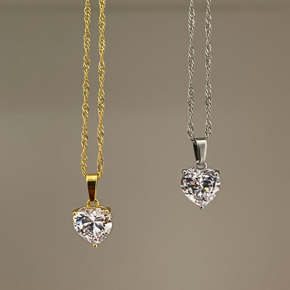 Image of Love You Necklace
