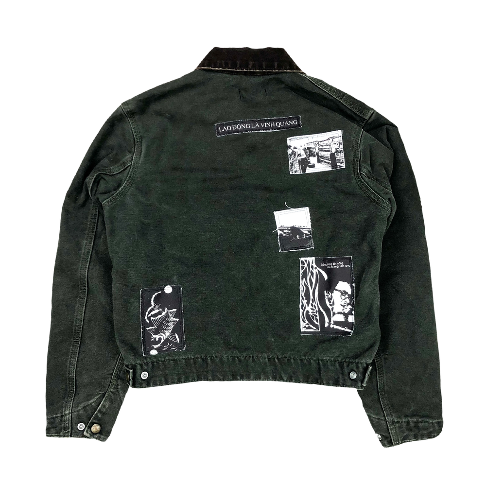 Image of Lao Động Vintage Jacket (Forest Green)