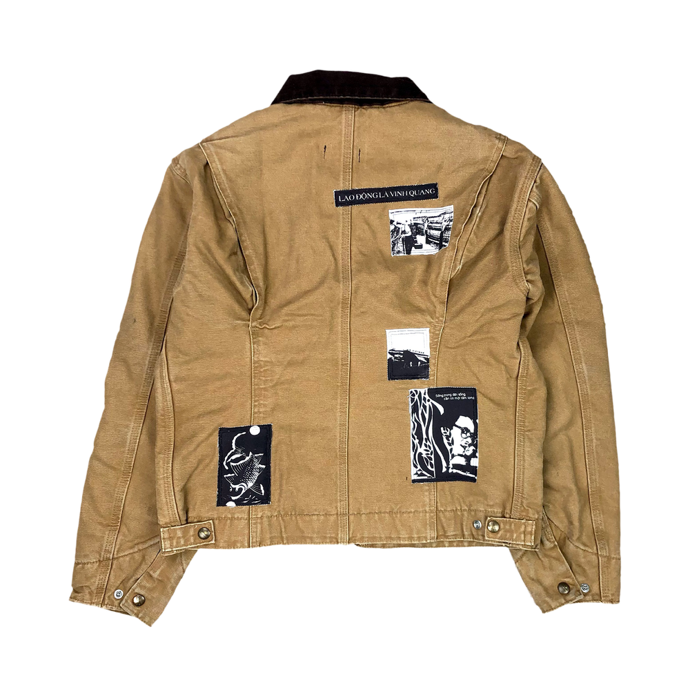 Image of Lao Động Vintage Jacket (Sand Brown)