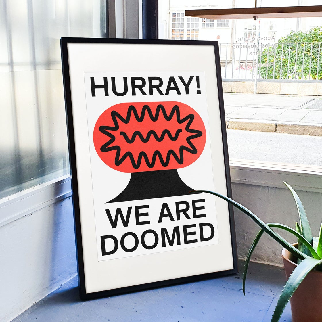 Image of WE ARE DOOMED By Marco Oggian