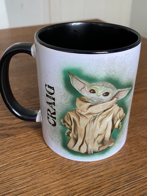 Image of Personalised Baby Yo mug