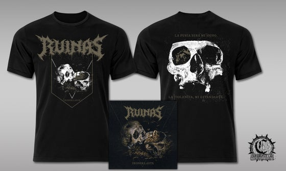"Image of RUINAS ""Ikonoklasta"" T-shirt + DigiCD bundle"