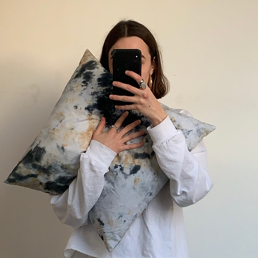 Image of HAND DYED CUSHION COVER