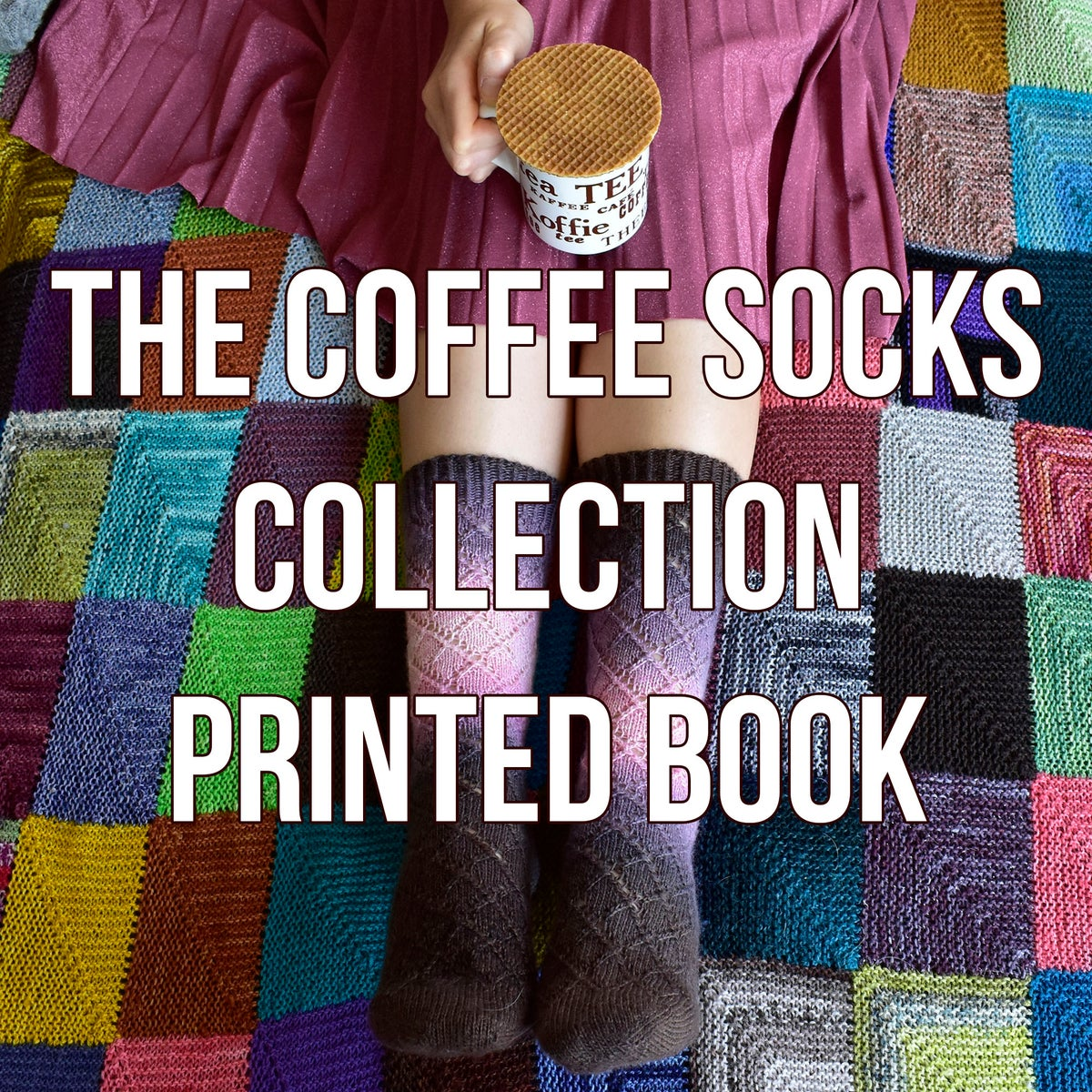Coffee Socks Collection printed book