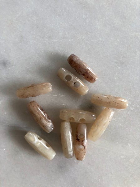 Image of Lys deluxe plastknap - 2,5 cm