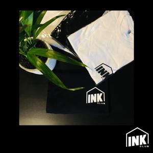 Image of T-Shirt Ink Club nuovo logo + adesivo