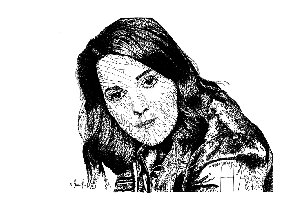 Image of Brandi Carlile Lyric Portrait