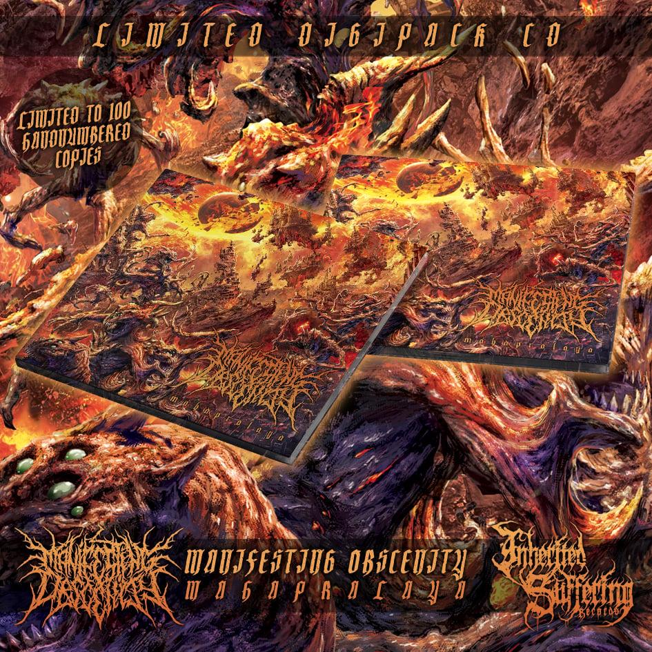 Image of Manifesting Obscenity - Mahapralaya - Limited Digipack CD