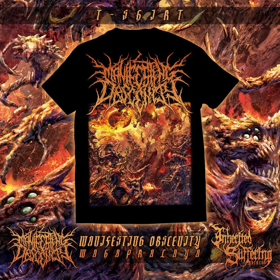 Image of Manifesting Obscenity - Mahapralaya - T-Shirt