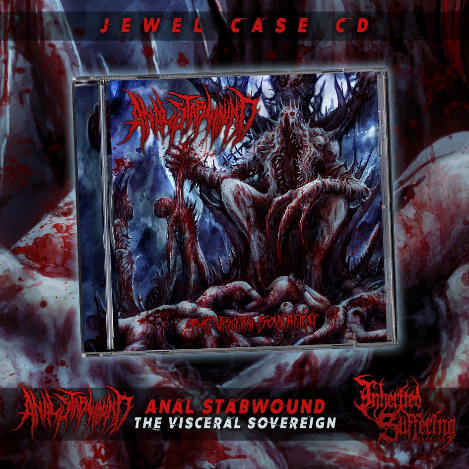 Image of Anal Stabwound - The Visceral Sovereign - Jewel Case CD