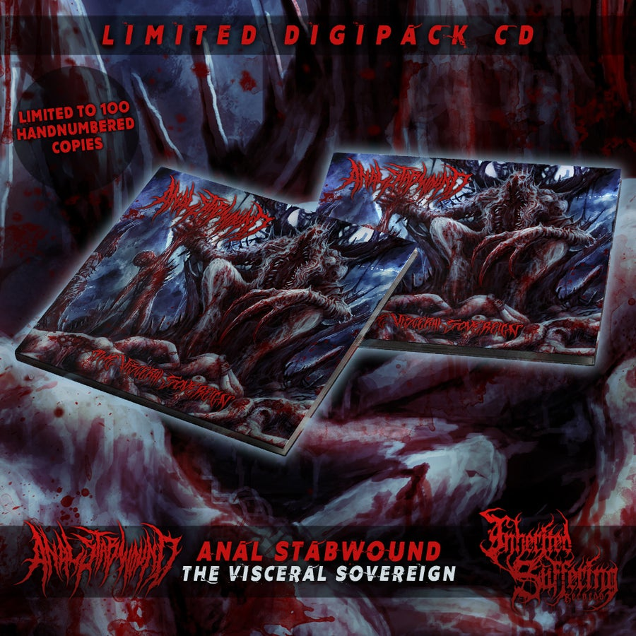 Image of Anal Stabwound - The Visceral Sovereign - Limited Digipack CD