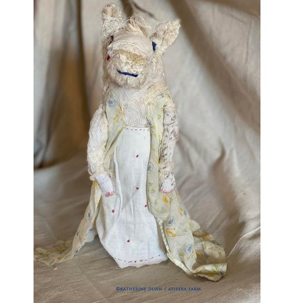 Image of Nana Teapot a raggedy creature doll