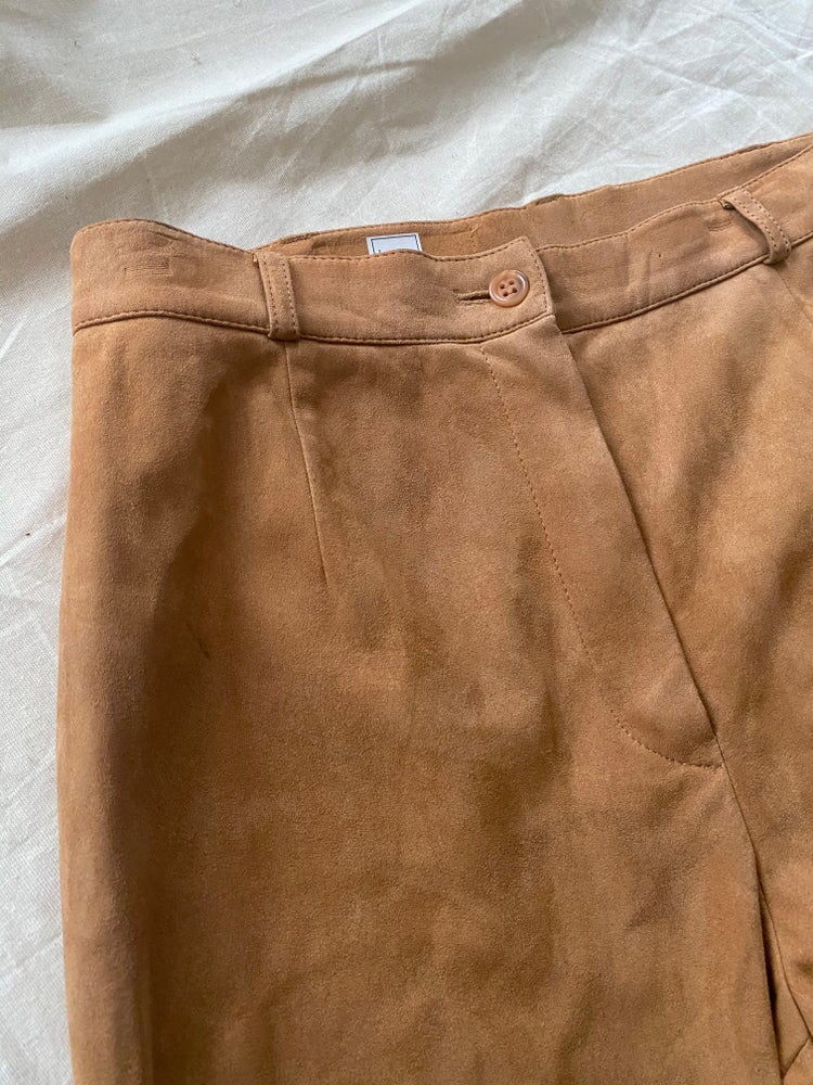 Image of tan tan trousers
