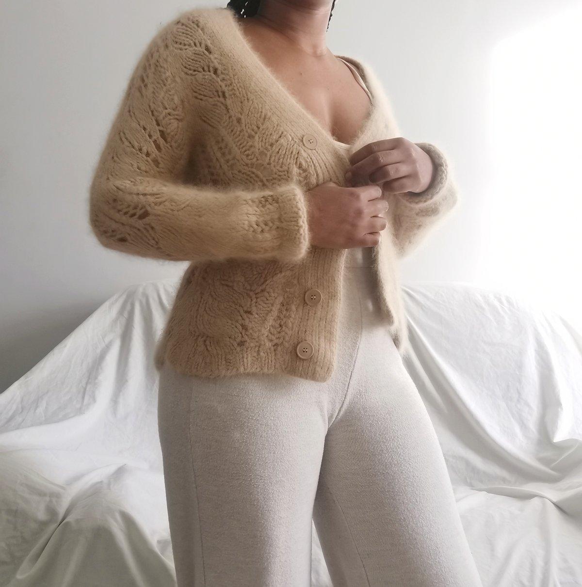 Image of soft wrap up cardi