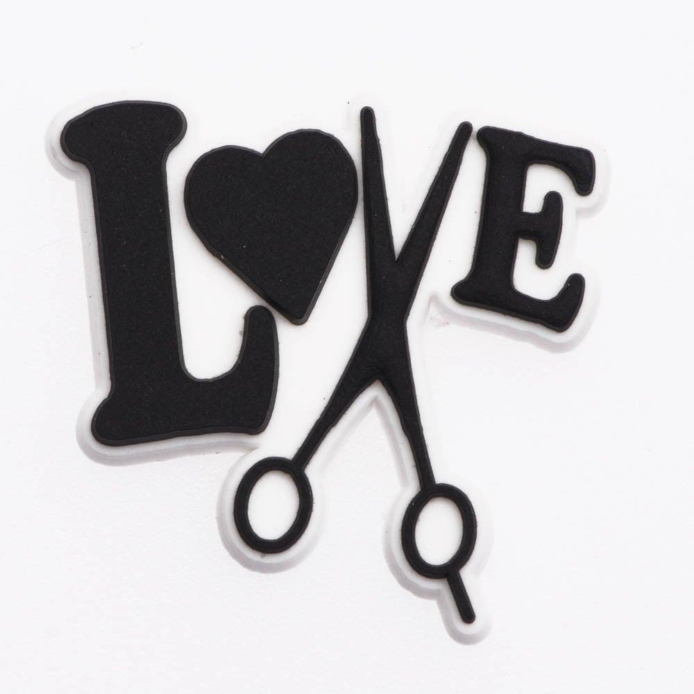 Image of Love Hair Jibbitz