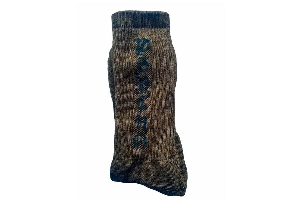 Image of TFG Brown/Black Psycho Socks