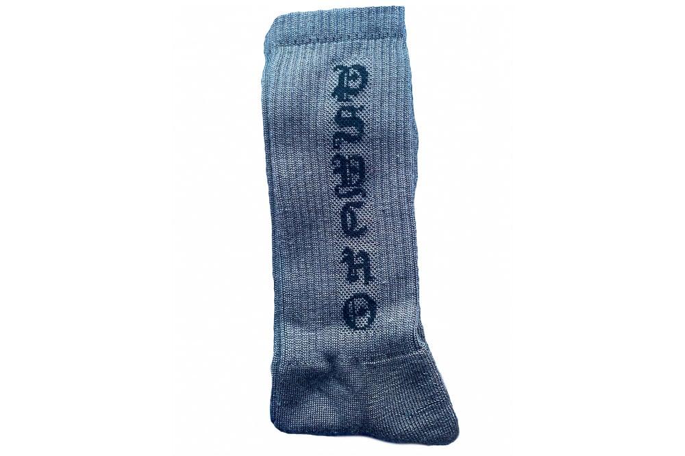 Image of TFG Gray/Black Psycho Socks
