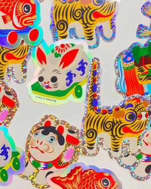 Image of Hariko 5 Stickers pack