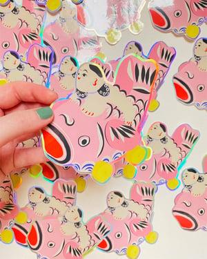 Image of Child & Carp 1 Sticker pack