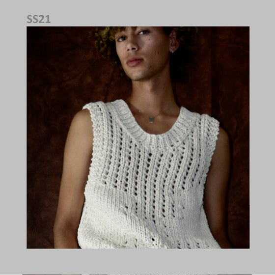 Image of SS21 - HAND KNITTED VEST