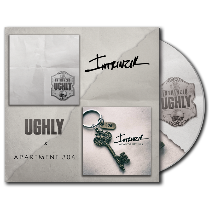 Image of Intrinzik - UGHly & Apartment 306 Split EP [pre-order ships on 2/20]
