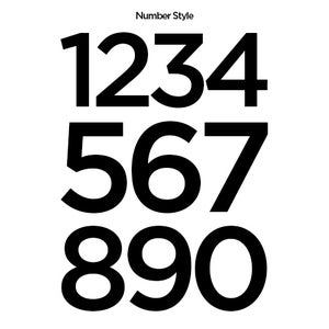 Image of OUTLINE RACING DISC 370 PLUS NUMBER - 1 X SAN SERIF STYLE