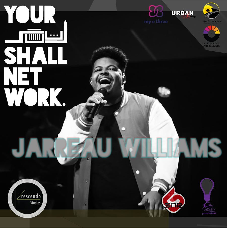 Image of Jarreau Williams VIRTUAL TICKET