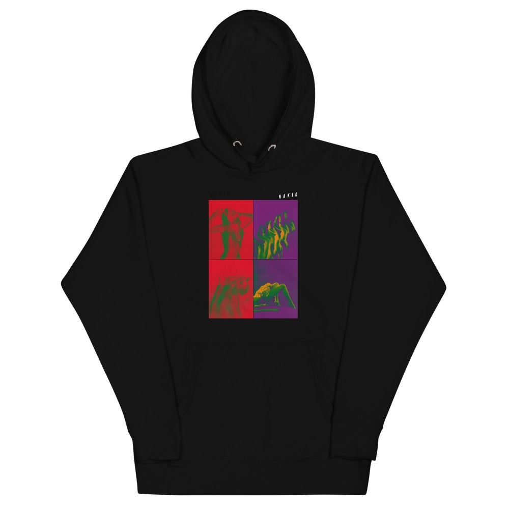 'FOUR WAY' by NAKID - Unisex Hoodie
