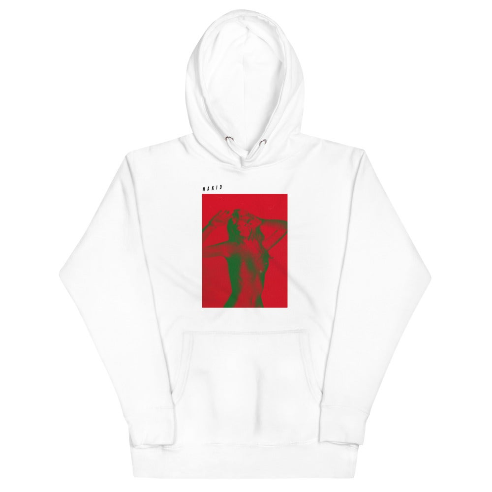 'FOUR WAY' THE DAME by NAKID - Unisex Hoodie