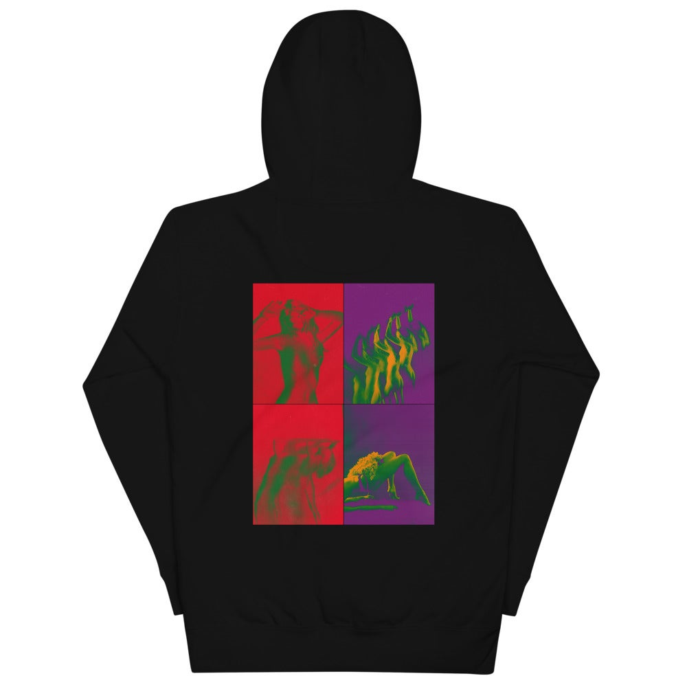 'FOUR WAY' THE LEGS by NAKID - Unisex Hoodie