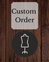 Reserved: Custom order for Angie