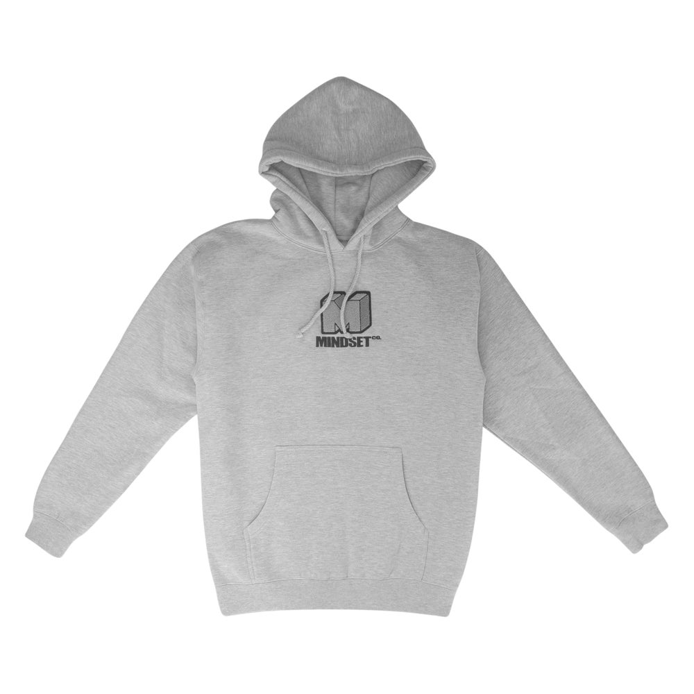 Image of Chenille Patch Hoodie (Ash)