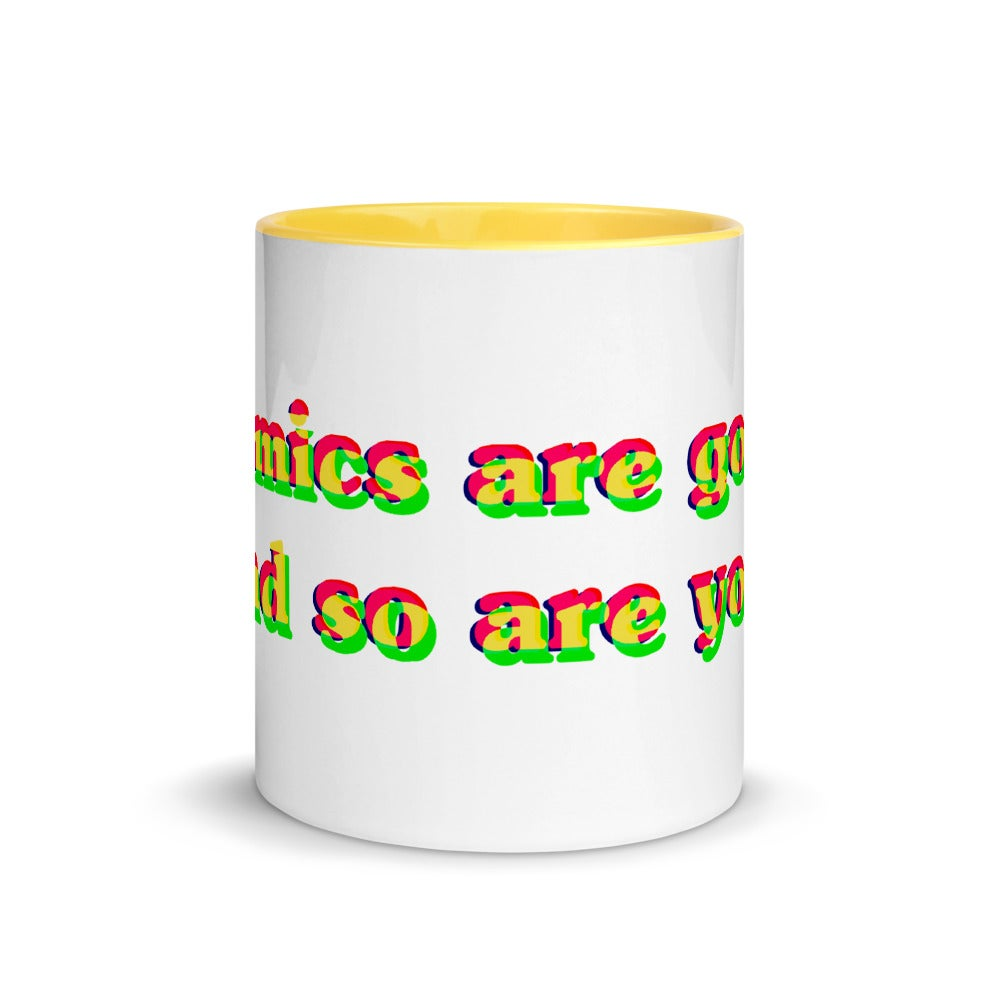 Image of Comics are good... mug