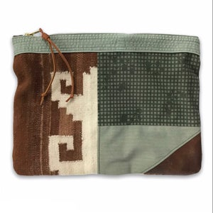 Image of COLLAGE POUCH 4 - LARGE