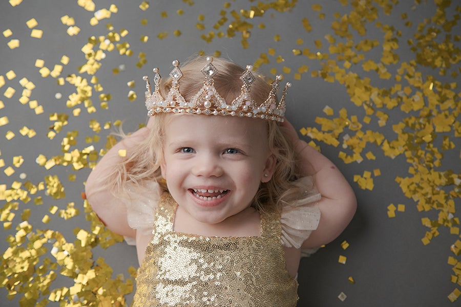 Image of Shimmer and Shine Glitter Session
