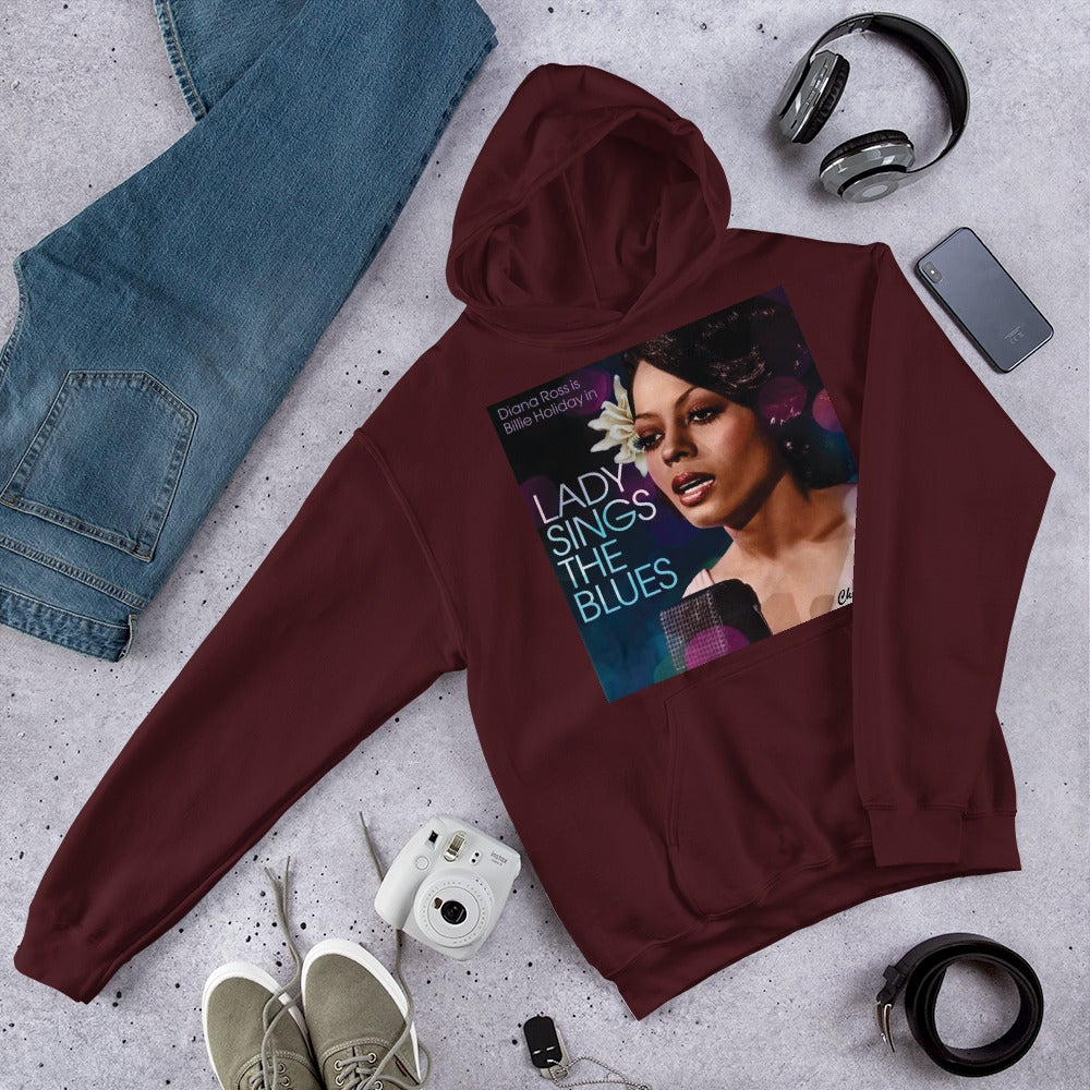 "DOPE ""LADY SINGS THE BLUES"" TRIBUTE HOODIE BY CHIEFERS CO. MOVIE POSTER SERIES"