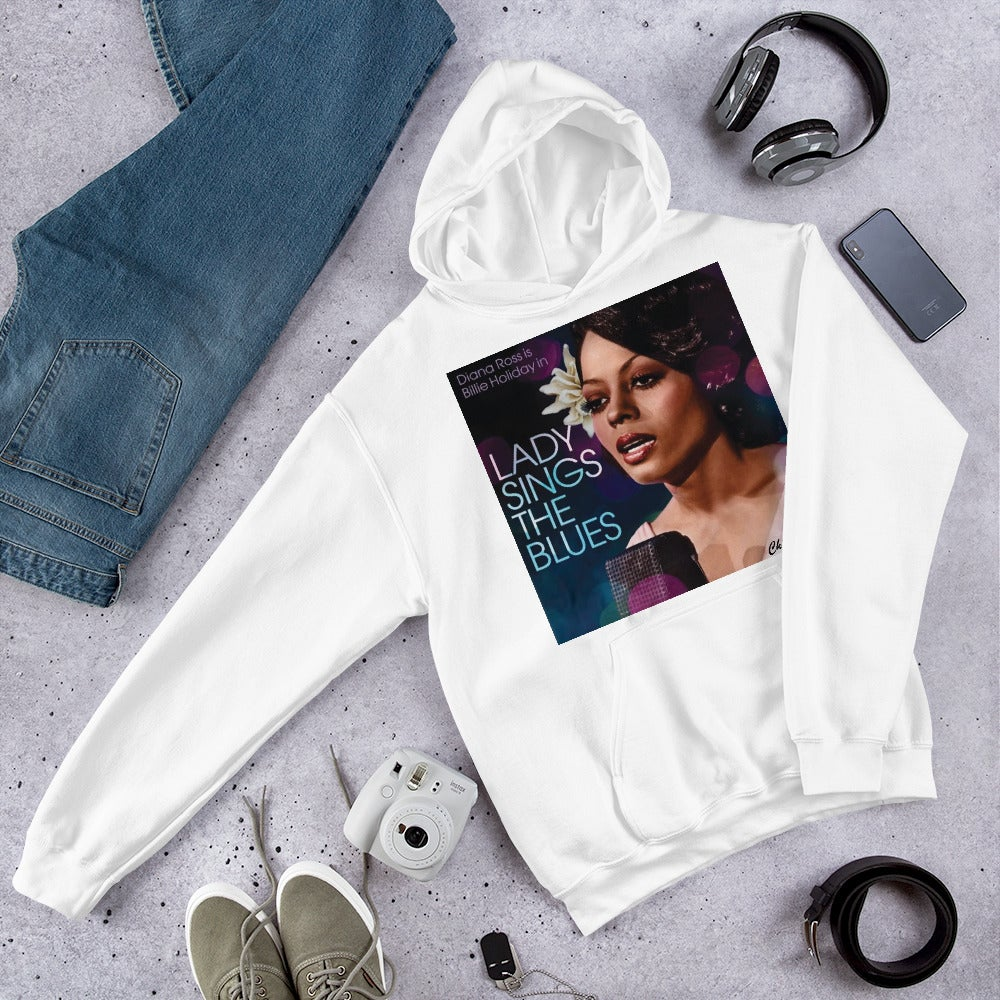 """DOPE """"LADY SINGS THE BLUES"""" TRIBUTE HOODIE BY CHIEFERS CO. MOVIE POSTER SERIES"""