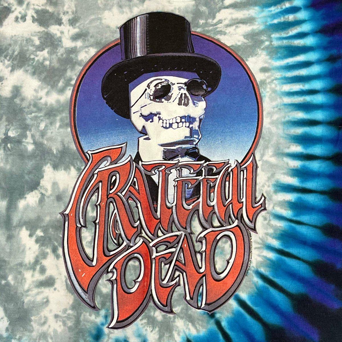 Original Rare Vintage Grateful Dead NYE 1990's Rick Griffin Tee! Large!