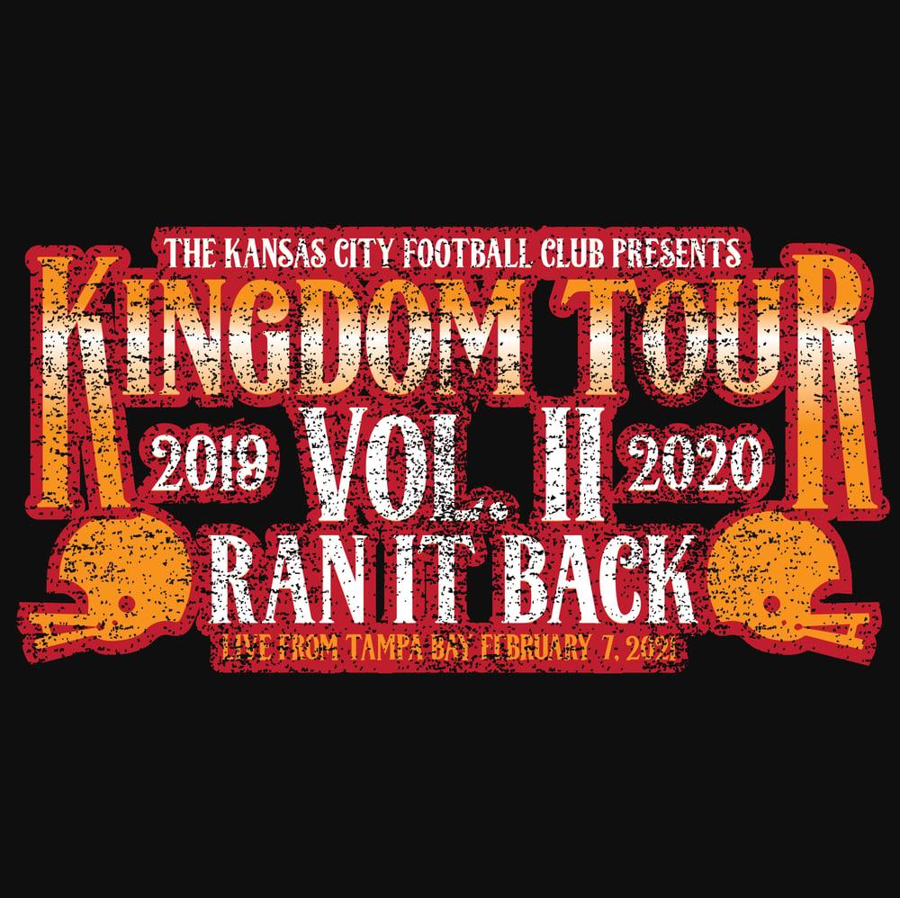 Image of KINGDOM TOUR VOL. II RAN IT BACK