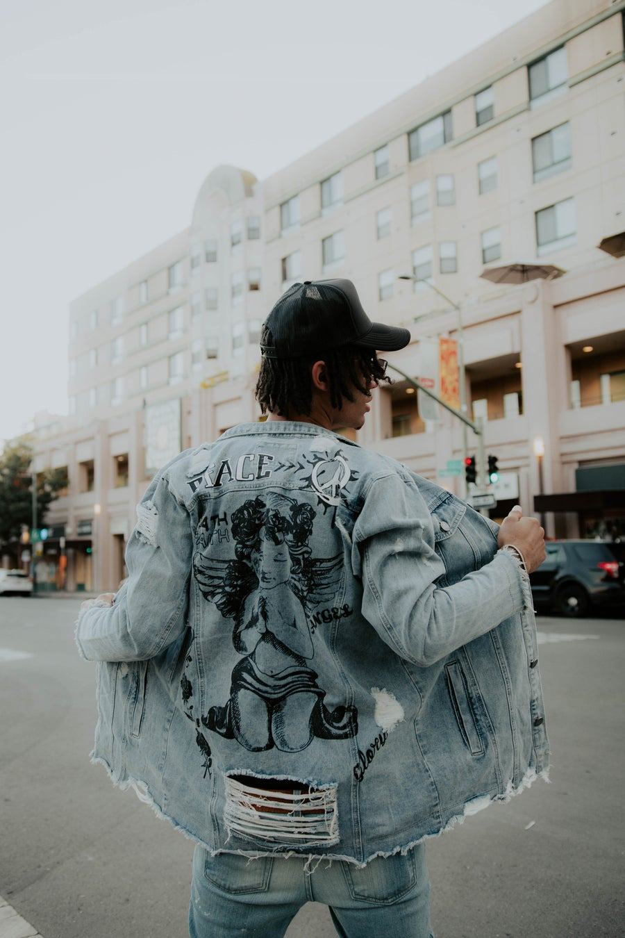 Image of Angel Jean Jacket
