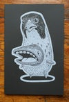 GUS  | Hand Pulled Relief Print